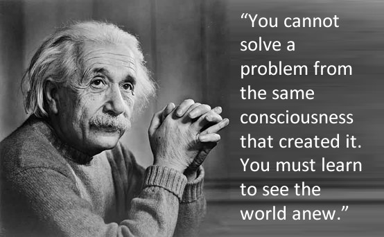 Einstein Solving Problems